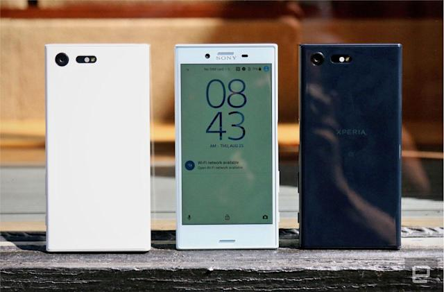Sony's mid-range Xperia X gets a smaller spin-off