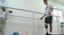 New prosthesis and new life for Chapeco goalkeeper