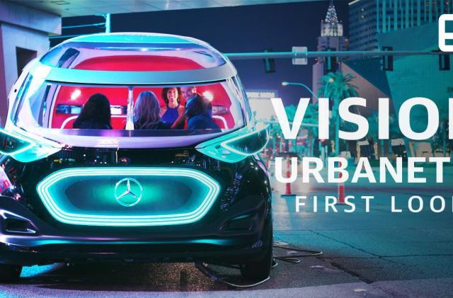 Inside the Mercedes concept that's part taxi, part delivery van