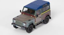 全球唯一的 Paul Smith + Land Rover Defender 90 現在誰也可以擁有