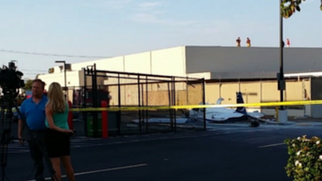 Plane Crashes Into San Diego Parking Lot