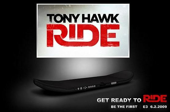 Tony Hawk's new 'Ride' game includes motion-sensing skateboard controller for shredding your mom's new carpet