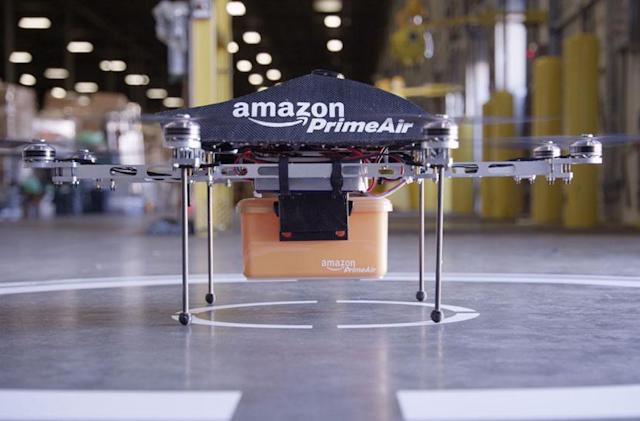 Amazon doesn't want states regulating courier drones