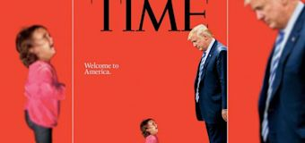 Time puts Trump and immigrant girl on cover