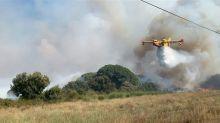 Incendi boschivi, oggi 15 richieste di intervento areo