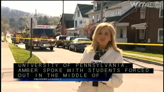 Indiana fire destroys IUP students' home