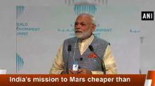 India's mission to Mars cheaper than Hollywood film: PM Modi at World Government Summit