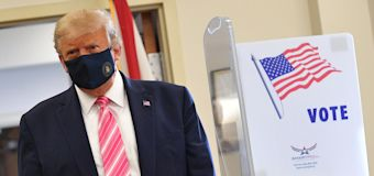 Trump casts own ballot in his adopted home state