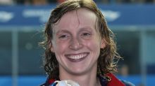 Ledecky returns to competition with time ticking to Tokyo