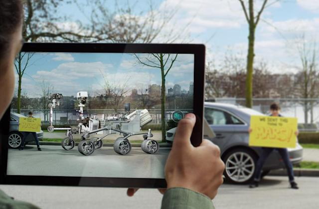 Microsoft helps you see mixed reality with only a webcam