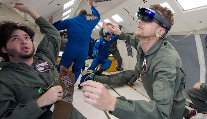 NASA is putting Microsoft's HoloLens to work in space