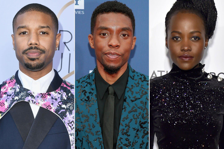 Chadwick Boseman S Wife Costars Michael B Jordan Lupita Nyong O More Attend Private Memorial