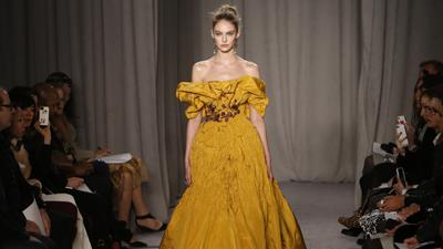 Marchesa Channels Scotland at NY Fashion Week
