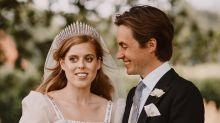 Princess Beatrice Got Married in a Gown & Tiara That Were Both Loaners From the Queen