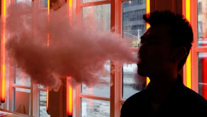 Dramatic rise in vaping among teens, study finds