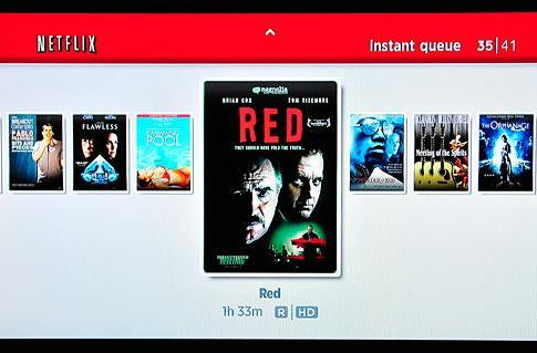 Roku's HD Netflix interface gets pictured