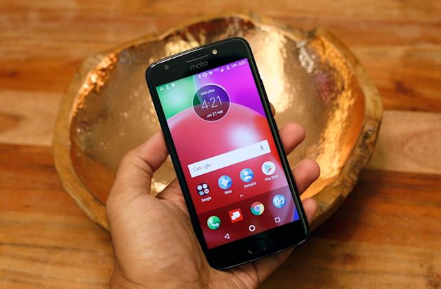 Motorola's new Moto E4 isn't exactly thrilling, but it's cheap