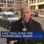 AT&T trial over Time Warner deal nears
