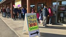 Whitehorse shoppers look for good finds at new thrift store