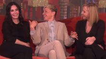 Courteney Cox gets emotional during surprise 'Friends' reunion with Lisa Kudrow on 'Ellen'