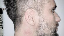 Bruno Gagliasso tatua nome do filho, Bless