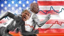 INFOGRAPHIE. Présidentielle américaine : ce que disent les sondages du duel entre Joe Biden et Donald Trump (et quelles sont leurs limites)