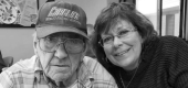 Tammy Roberg with her father, Chester Peske. (Tammy Roberg)