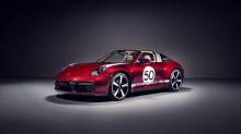 Porsche introduces 2021 911 Targa 4S Heritage Design Edition