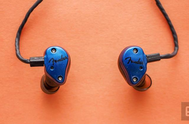 Fender's FXA2 in-ear monitors sound great onstage and off