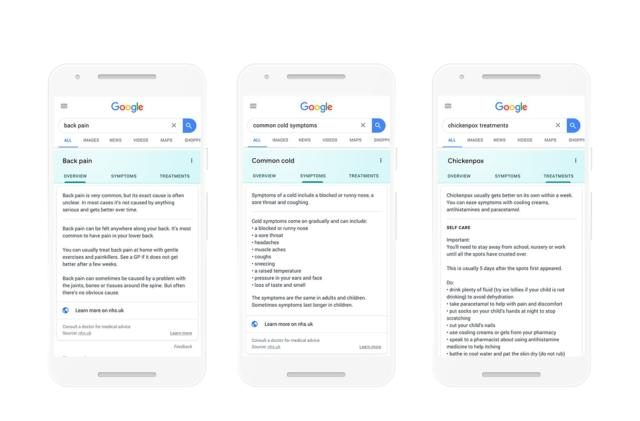 Google Search now delivers NHS advice in the UK