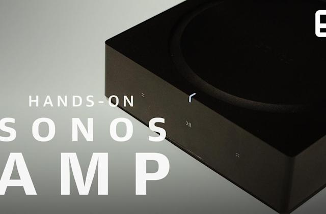 Sonos Amp is an AV hub built to handle complex setups