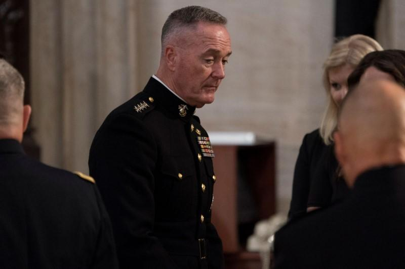 Former top U.S. general Dunford joining Lockheed Martin's board