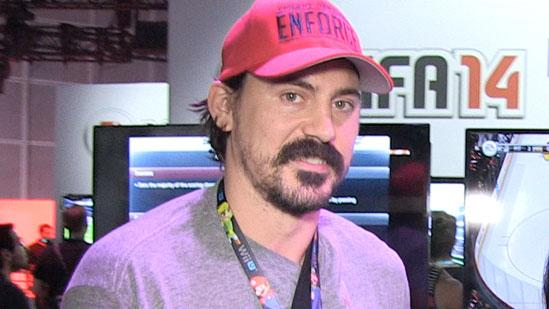 Facing Off with NHL Star George Parros at E3