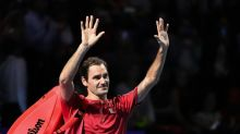 Federer celebrates 1,500th match with Basel breeze