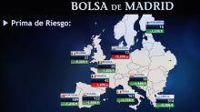 La prima de riesgo española baja a 123 puntos por la subida del bono alemán
