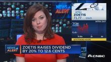 Zoetis raises dividend by 20%