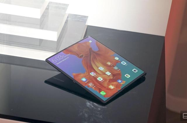 The Morning After: Huawei's foldable phone