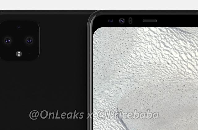 Google Pixel 4 XL renders suggest the notch is going away