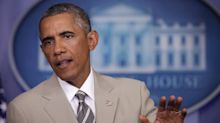 It's the 5th anniversary of Barack Obama's tan suit scandal