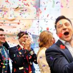 Ukraine comedian sweeps to victory in presidential election