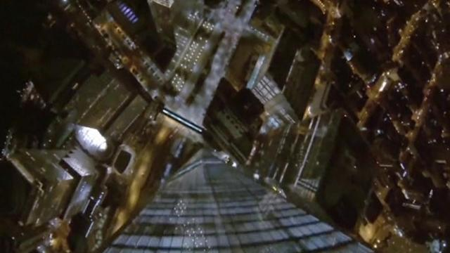 Watch base jumpers illegally leap off of World Trade Center tower