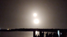 SpaceX Falcon Boosters Touch Down at Cape Canaveral