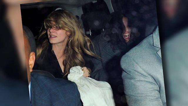 Michelle Rodriguez Removes Her Pants While Partying With Cara Delevingne