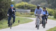 UK PM rides made-in-India Hero cycle