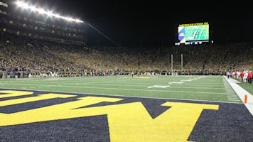 ESPN paid for permanent lights at Michigan