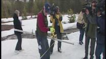 Water managers despair: snowpack 50% of normal