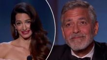 Amal Clooney's emotional tribute speech to George