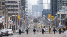 PHOTOS: Several pedestrians struck by van in Toronto