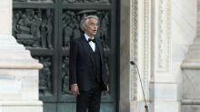Andrea Bocelli faz concerto de Páscoa em um Duomo de Milão vazio
