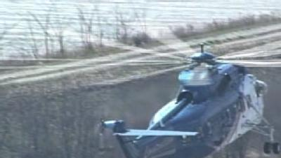 Raw Aerials: Helicopter Delivers Materials To Ford